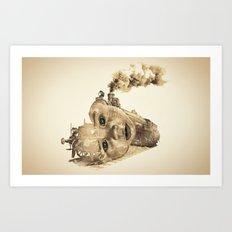 train of life Art Print