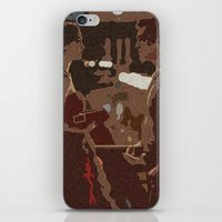Three Words, Eight Letters iPhone & iPod Skin