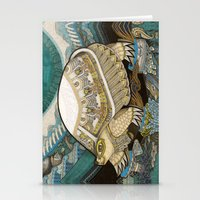 turtle Stationery Cards featuring Turtle by Yuliya