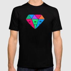 Mansions Black Mens Fitted Tee SMALL