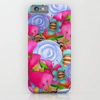 iPhone & iPod Case featuring Electric Garden by Jennifer Lambein