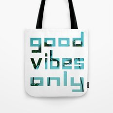 good vibes only // Punta Cana Tote Bag