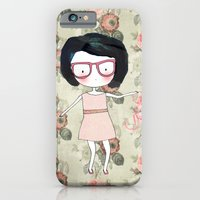 iPhone & iPod Case featuring Nerdy girl by munieca