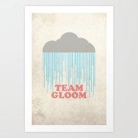 Team Gloom Art Print