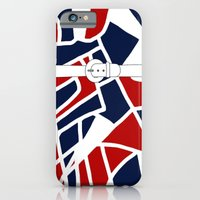 Red White & Blue iPhone 6 Slim Case