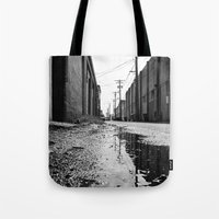 Gritty Tacoma alley Tote Bag