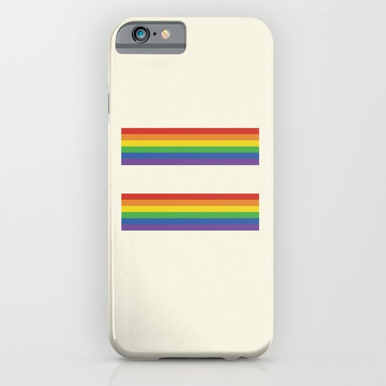 Equalities of the rainbow  iPhone & iPod Case