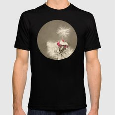 DANCE WITH ME I | BALLET DANCERS Mens Fitted Tee SMALL Black