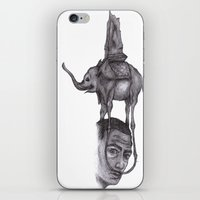 Dali's Dream iPhone & iPod Skin