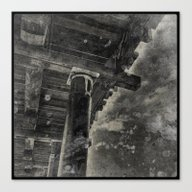Pier Substructure Canvas Print