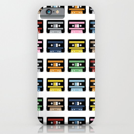 Rainbow Black Tapes iPhone & iPod Case