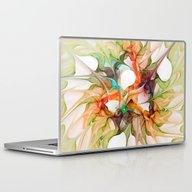 Laptop & iPad Skin featuring Dancing In The Wind 2 by Klara Acel