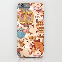 iPhone & iPod Case featuring The Great Air Balloon Hunt by Anne Lambelet