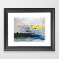 Dusty Sea Framed Art Print