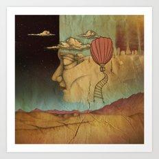 Overlands Art Print