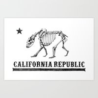 California Republic Art Print