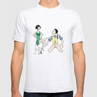 Singin' In The Rain Mens Fitted Tee Ash Grey SMALL
