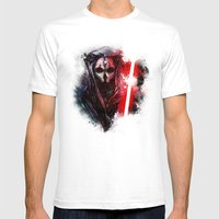 Darth Nihilus Mens Fitted Tee White SMALL
