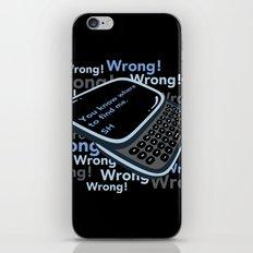 Texting Sherlock iPhone & iPod Skin