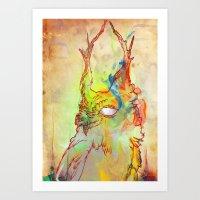 Turning Light Art Print
