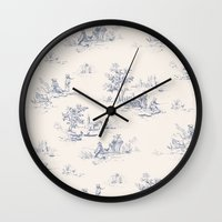 Animal Jouy Wall Clock