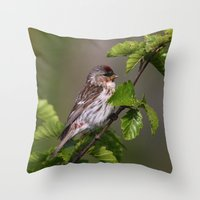 Good Morning Tweety! Throw Pillow