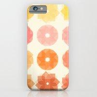 Geometric Flowers iPhone 6 Slim Case