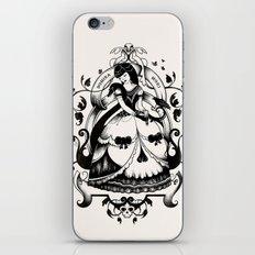 Mrs. Death II iPhone & iPod Skin