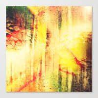 Existing In Thought Canvas Print