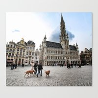 Grand Place, Brussels Canvas Print