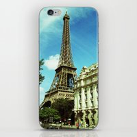 Sunny Day in Paris iPhone & iPod Skin