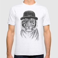 Welcome To The Jungle Mens Fitted Tee Ash Grey SMALL
