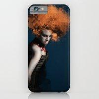 dama in piedi iPhone 6 Slim Case