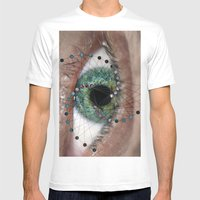Hypnosis, a spiral into You Mens Fitted Tee White SMALL