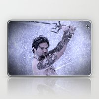 Bam Bam the Snow Warrior Laptop & iPad Skin