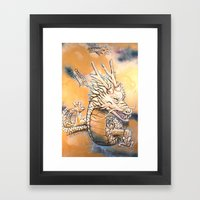 Sky Dragon Framed Art Print