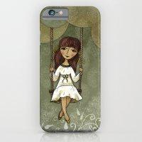 Hannah on a Swing iPhone 6 Slim Case
