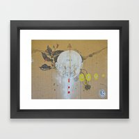 Twince Framed Art Print