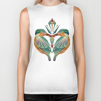 little birds  Biker Tank