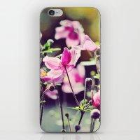 Summer blooms iPhone & iPod Skin