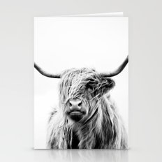 Portrait Of A Highland C… Stationery Cards