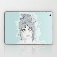 Zooey. Laptop & iPad Skin