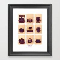 camera love Framed Art Print