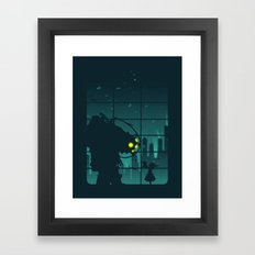 Come on, Mr. Bubbles! Framed Art Print