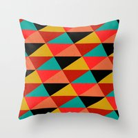 Ternion Series: Winterti… Throw Pillow