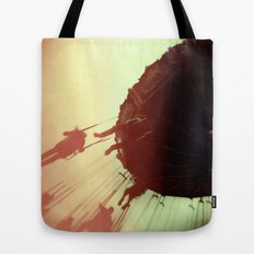 Swings and Light Leaks Tote Bag