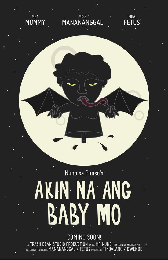 Akin Na Ang Baby Mo (Philippine Mythological Creatures Series #1) Art Print
