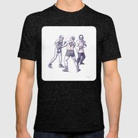 Freud, Jung, And Watts, … Mens Fitted Tee Tri-Black SMALL