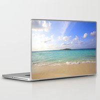 beach Laptop & iPad Skins featuring Beach by 2sweet4words Designs