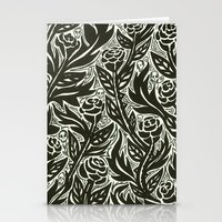 Death Of The Roses Stationery Cards